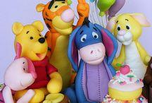 Cake - Pooh bear
