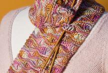 knitting for necks