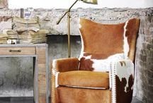 Cow Hide Chairs