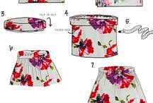 šití oblečeníi