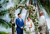 Lourdes + David / Stunning oceanfront wedding at the Olowalu Plantation House on September 10, 2016. Lourdes & David celebrated their wedding day in an elegant event planned by WOW coordinator Jacqueline Ishikawa. Their photographer was Chris J. Evans who took the most amazing shots! We are so thrilled to have been part of a day filled with love, laughter and memories!