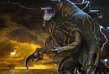 Kaiju and jaegers
