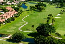 Enjoy the Best Golf in Palm Beach County / The triple crown of golf! #Country Club #FountainsCC #LakeWorth #PalmBeachCounty