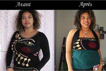 DIY Relooking de vieux habits / Idées sympa de relooking/recyclage de vieux vêtements. Création de à la mode, de nouveaux vêtements à partir de vieilleries mais aussi,  de bijoux, d'accessoires à partir de vieux objets