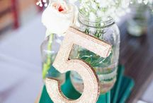 Event Decor / tables, buffets, signage and all the little details