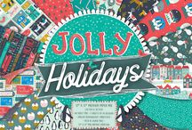 First Edition Jolly Holidays / Bring the festive season to life in your projects with first Edition's Christmas papercraft collection, jolly holidays. Designed by the talented Jessica Hogarth, peer inside the paper pad to find a mix of colourful and contemporary patterns, including illustrations of baubles, snow globes, snowmen, and adorable snowy scenes.