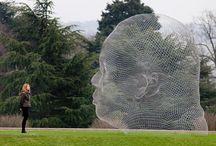 Outdoor Sculpture Love