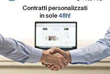 www.contrattonline.it / contratti su misura, in italiano e in inglese... da 50 Euro!