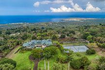 Waiaha Estates / Residential, Luxury, Real Estate, Hawaii, Kona-Kailua, Holualoa, Contemporary, Acreage, Mountain Side, Infinity pool, Wine room http://www.carrie-nicholson.com/waiaha-estates