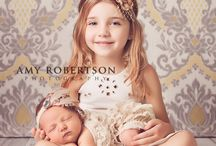 Newborn with Siblings Inspiration