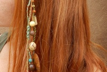 Hair adornments - Beaded / Polymer
