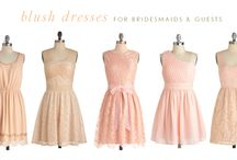 Wedding - Bridal Gowns / Ideas for the Bridal Party's Attire at the Wedding