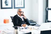 Fresh Inspiration: What's on Joe's Desk / Joe Fresh Creative Director Joe Mimran's inspiration for each collection comes from sources far and wide - from a recent art purchase to travel. Here's a peak at some of the things that he needs to get through the day. / by Joe Fresh