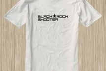 Black Rock Shooter Anime Tshirt