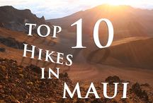 Maui Hikes / Maui is a hikers paradise.  We've got hikes for all levels ranging from sea level to Sliding Sands inside the Haleakala crater.  Desert landscapes to lush bamboo forests and everything in between - there's something for everyone. / by Destination Resorts Hawaii