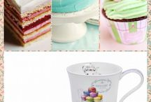 Фарфор и сладости l Porcelain and Sweets / Сладости на фарфоре l Sweets on porcelain