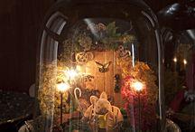 glass cloche displays