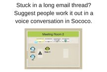 Sococo Tips & Tricks / Get the most our of your Sococo virtual office. Here are some tips and tricks to help you take full advantage:   www.sococo.com / by Sococo