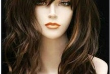 Beautiful Hair style parykker  Wig