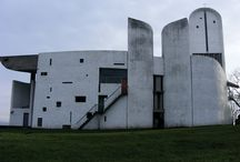 Le Corbusier / Ronchamp / One of my favorite architects. I believe he had a fantastic imagination.
