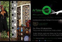 Vente privée afro / boutique créateurs / artisanat d'art afros évènements avec des articles en exclusivité