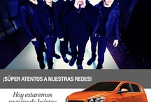 The Cure de gira por las redes Chevrolet