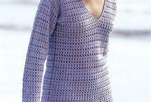 Damen Pullover häkeln