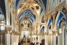 Basilicas, Cathedrals and churches
