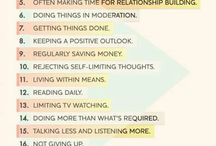 Tips on living a better life...