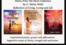 Inspiration by C. Melita Webb / Inspirational messages from the Poetry from the Heart book collection