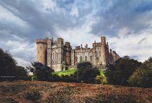 Arundel, West Sussex, England / Замок и деревня Арундел, Англия.