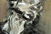 Frank Auerbach/Glenn Brown / by jose de la vega