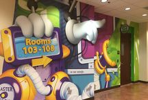 Westover Hills Assembly of God / The vibrant colors and creative design work make this Children's Ministry space THE place to want to be!