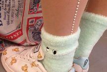 Legs / Stocking shoes leg style