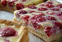 тарт ягодно заливной