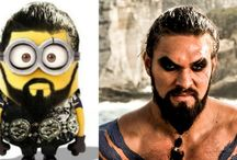 All Game Of Thrones Characters As Minions 2017 Porfirios Guarding This Channel