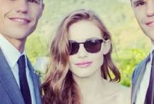Holland Roden and Carver Twins / Lydia and Aiden and Ethan