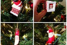 Christmas Decorations / Christmas tree ornaments and other Christmas decorations
