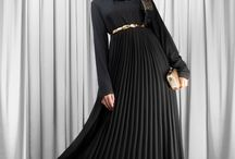 COLOR Black / Black Abayas, Maxi skirts and Sleeved Maxi Dresses