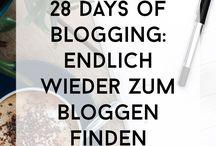 28 Days of Blogging 2018 / Für die Beiträge der 3. Runde von der #28daysofblogging Challenge. #blogging