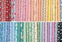 1930's Reproduction Quilt Fabric / Fun mini-prints and punchy pastel quilting fabrics and pre-cuts inspired by fabrics of the 1930s but perfect for today's reproduction quilts. / by Keepsake Quilting