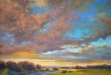 Sunsets / Pastel Paintings