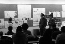 lafactoria_fotos taller / imágenes del ambiente del taller de Proyectos de 2º curso con los profesores Gonzalo Cano Pintos y Carlos Miguel Iglesias Sanz.  Escuela de Arquitectura EPS-CEU San Pablo
