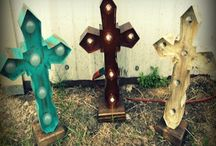 cross designs / by Ginger Denise Salinas