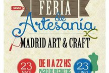 feria de artesanía, del Paseo Recoletos, en Madrid 2017