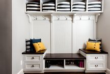 Mud Rooms / Laundry Rooms / Mud Rooms and Laundry Rooms. How to stay organized.