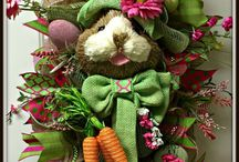 Springtime is coming / Spring season special holiday occasions for events, ideas for giving that special someone for the  holidays. Bunny fun creations for crafty desserts