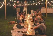 Summer Parties / Summer parties - decor, inspiration, food ideas