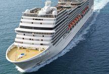 Kreuzfahrten, das Schiff, die Kabinen, das Bordleben, ®™