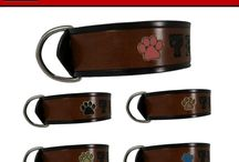 Paw Print Dog Collars with a Cause! / For the Month of October 2016! Any dog collar or leash with paw prints, 50% proceeds goes to Dogs by Debin, a rescue shelter in Springfield, MO.